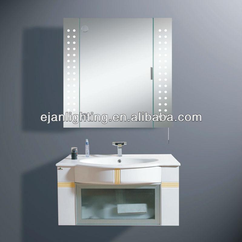 Illuminated Cabinet Mirror Light/t5 Fluorescent Bathroom Mirror ...