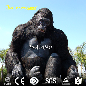 MY Dino AA-43 China Simulation Life-Sized Orangutan Animal Sculpture