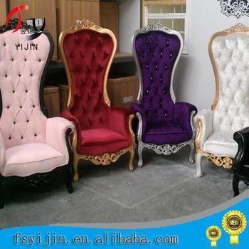 hongkong modern cheap wedding king chair