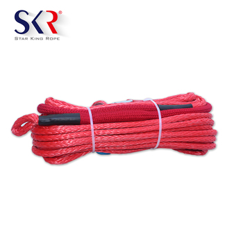 Wholesale Synthetic Kevlar Winch Rope With Good Ultraviolet Resistance