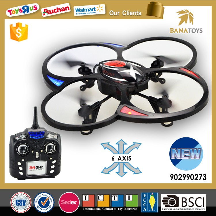 New toys for kid 2016 2.4g 4-axis ufo aircraft rc propel quadcopter