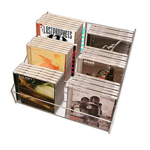 Wholesale DVD CD Display Rack Acrylic Card Holder Lucite Brochure Holder