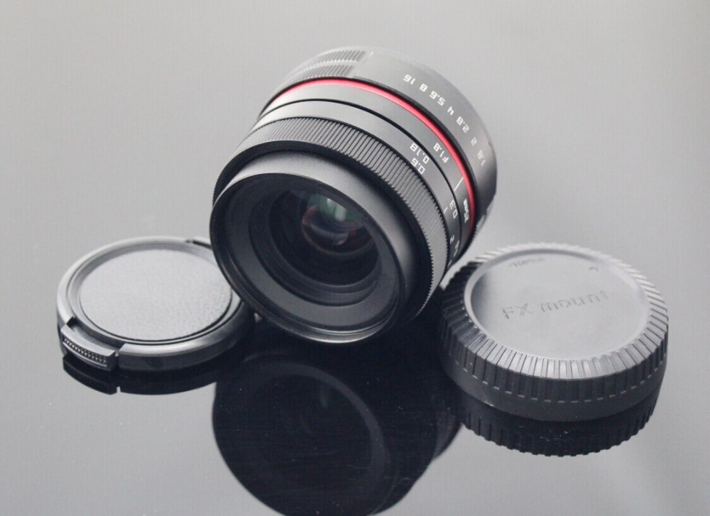 Fujian 25mm New Style Fx Mount Camera Lens