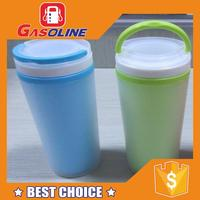 Popular top grade plastic drink cup advertising