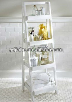 Bathroom Vanity Extension 4 tiers bathroom vanity bath storage ladder extension ladder