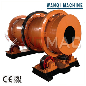 Wanqi HGJ-600 Rotary charcoal Coal Drying Kiln furnace charcoal rotary dryer