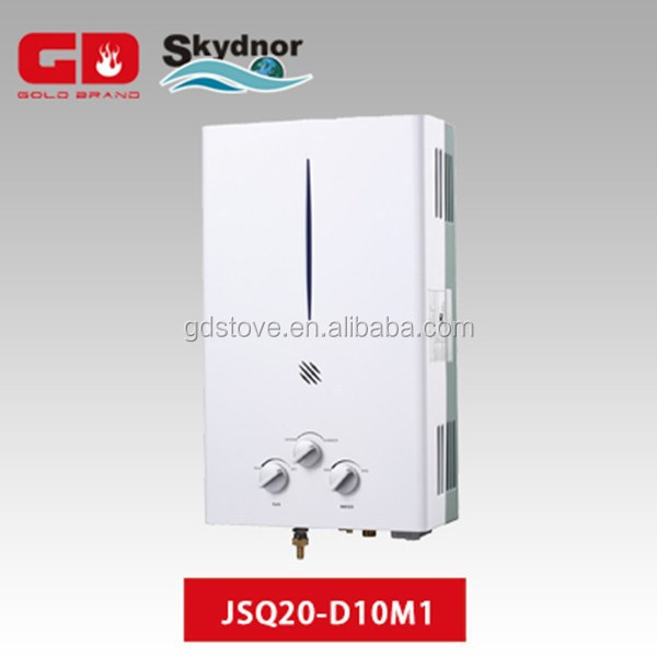 Wonderful instant electric water heater for shower ues LPG GAS