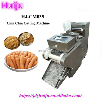 automatic snacks chin chin cutting frying making machine HJ-CM035