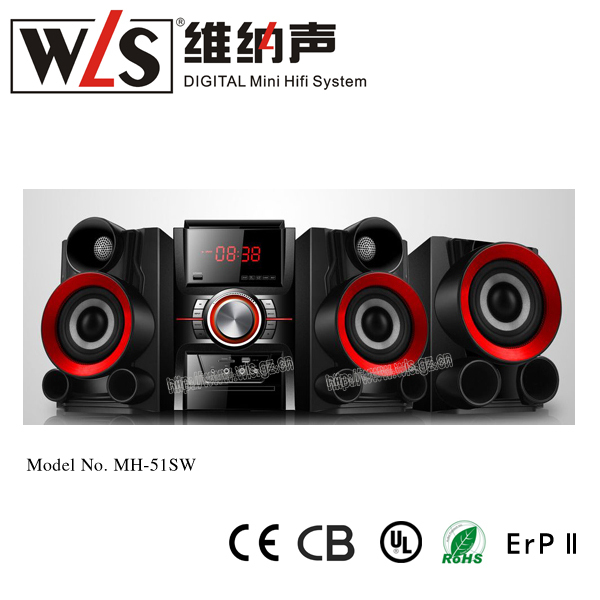 MH-51SW home theater music system Super Subwoofer 2.1CH sound system sale
