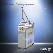 12 inch TFT color touch screen Q Switch ND YAG Laser for Tattoo Removal and all pigments removal