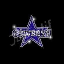 Neue hot-fix dallas cowboys <span class=keywords><strong>strass</strong></span> transfers design
