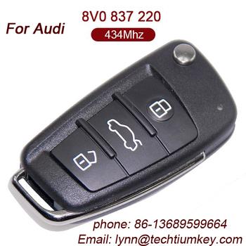 Remote Key China Manufacturers Universal Infrared Car Key For - Audi car key