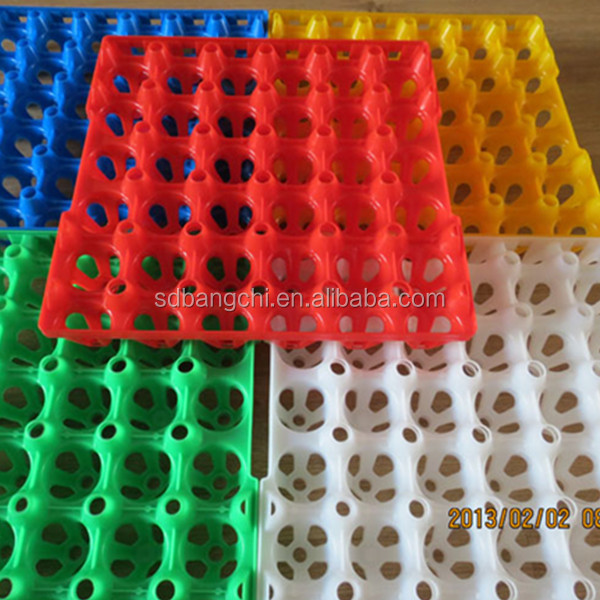30-cell plastic egg tray/box/carton for automatic hatching machinery