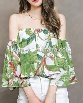 High Fashionable Women Viscose Print Yoka Tropical Punch Hawaii