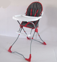 steel frame and extremely compact folding light weight high chair