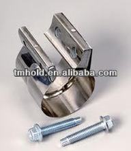 Exhaust performance wild lap joint band clamps