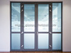 Latest Desing Glass Door Aluminium Door Interior Door
