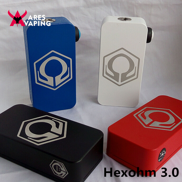 Hex ohm 240w box mod clone rda vape indonesia hexohm v3 hexohm 3.0 box mod