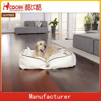 COO-2081 High quality Luxury PU Leather Pet Bed For Dog and Cat