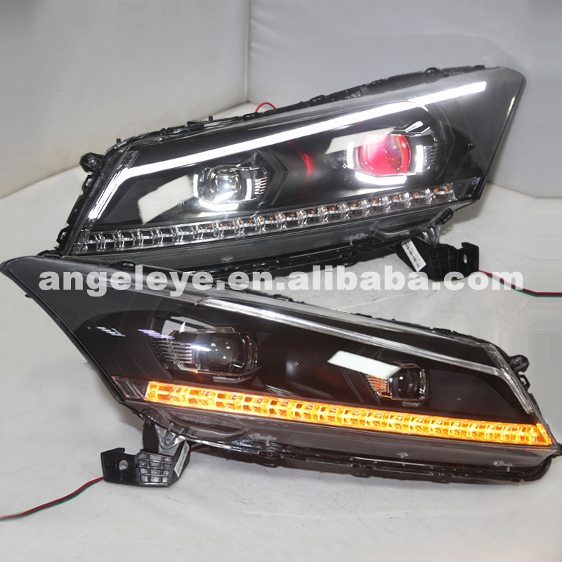 2008 To 2011 Year For HONDA Accord LED Devil Eye Front Light Head Lamp