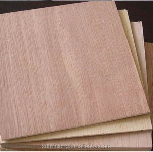 First class poplar core Okume Plywood 17mm