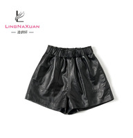 Hotsale Qualified Sexy Women Leather Shorts