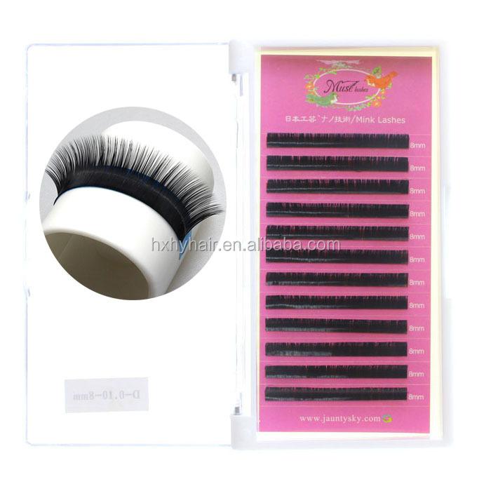 Wholesale 100 Human Remy Hair Strip Eyelash Extensions Ae H315