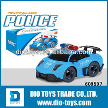 Cheapest! Hotsale 4 CH RC Electric Police Car Toy