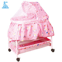 209 Modern Style Hot Sale Baby Cot Crib With Mosquito Net
