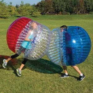 Hottest red dots bubble soccer / bumper ball inflatable ball / zorb ball rental