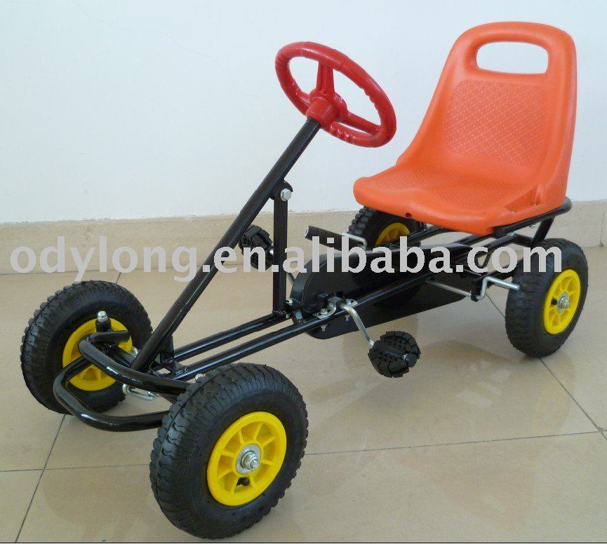 Hot Sell Toy Pedal Go Kart,Kids\' Pedal Toy Kart,For Age 3-10years ...