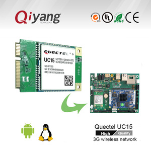 Quectel 3G module UC15 can support MINIPCIE connector