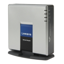 Unlocked Linksys SPA3000 <span class=keywords><strong>VoIP</strong></span> Telepon PSTN Adaptor dengan FXS + Port FXO