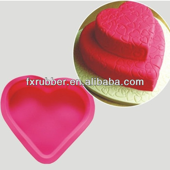 Silicone Small Love Heart Shape Design Cake Muffin Cups Mould Buy