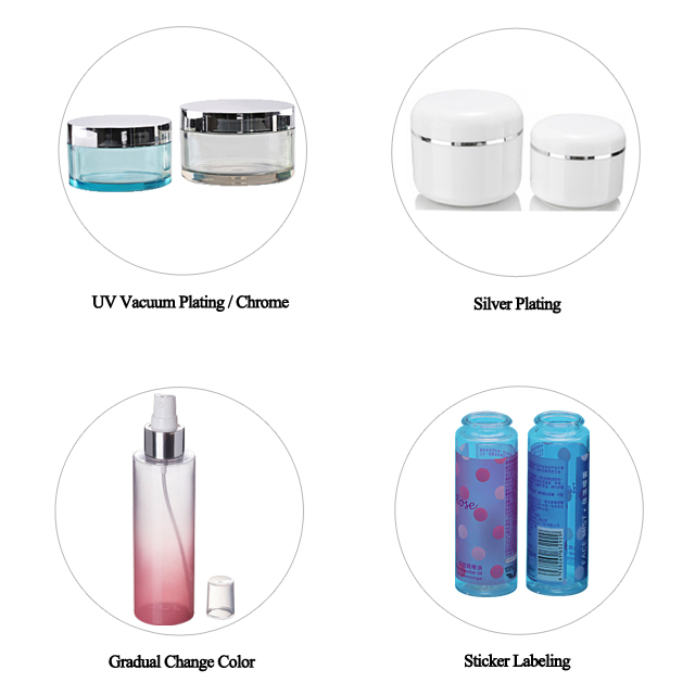 Fuyun 30ml empty plastic PP cosmetic white airless bottle with pump
