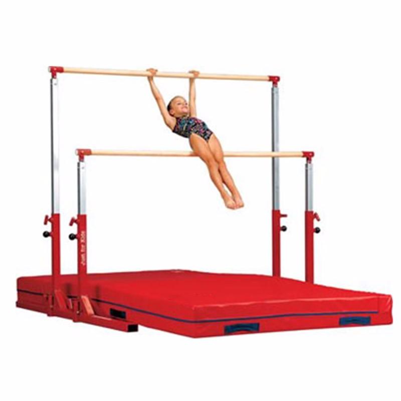 kids gymnastics bar steel adjustable gym uneven bar buy kids gymnastics bar adjustable gym
