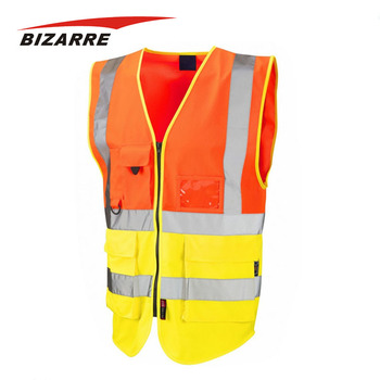High Quality Custom Colorful Vest Breathable Singlet Workwear Sleeveless Uniform For Unisex