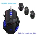 3200DPI LED Optical Professional USB Wired Gaming Game Mouse Mice 7 Buttons Computer Mouse Cable OPro