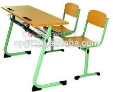 2015 Hot Selling School Desk Dimensions Reading Chair Used School Bench and Chair