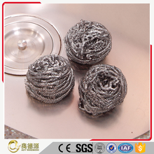 low price stainless steel kitchen scrubber / scourer / cleaning ball from alibaba china supplier
