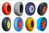 factory price 10inch 260mm PU foam solid wheel