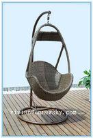 patio swing chair hanging chair balcony rattan furniture