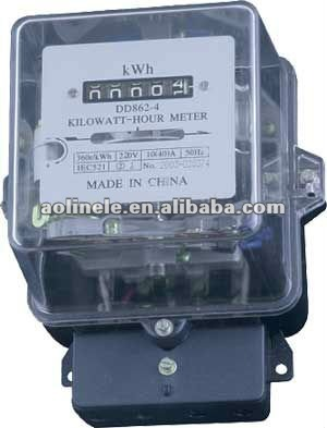 DD450 Long-life single-phase watt-hour meters