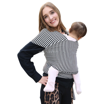 2017 Alibaba Hot Sales Baby Sling Carrier Baby Wrap Carrier For New