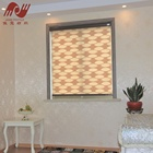 european style soft gauze sheer shade custom pattern window zebra blinds for living room