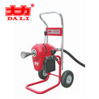 Sewer drain cleaning machine