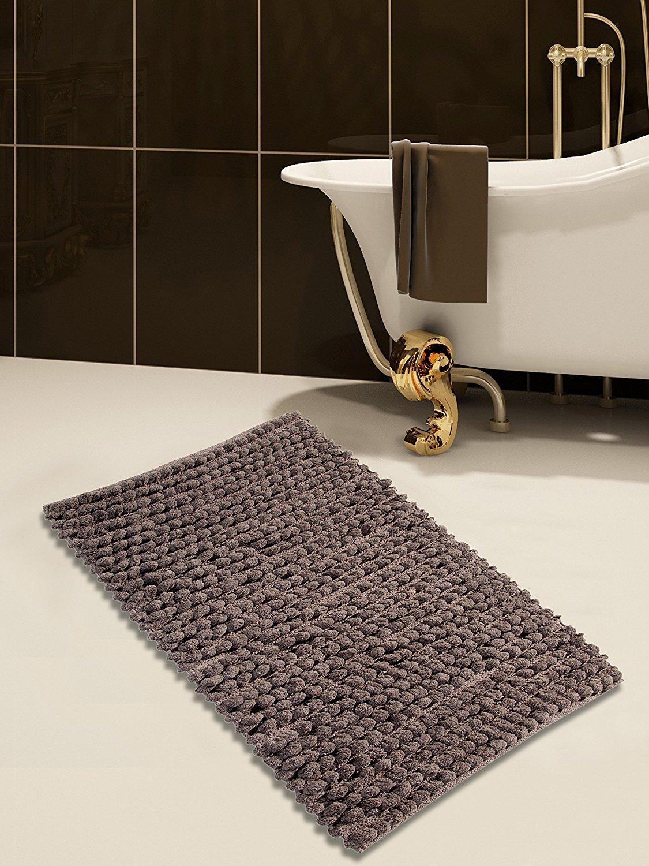 Get Quotations Saffron Fabs Cotton And Microfiber Bath Rug 50 X 30