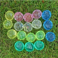 Wholesale 32mm diamond bouncy bouncing balls for vending machine