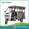 most powerful pedal passenger tricycle with CE certificate