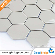 New Design Bathroom Hexagon Ceramic Mosaic Tile Pictures Pattern 60HTN202